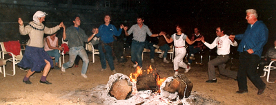 Dancing Around the Campfire